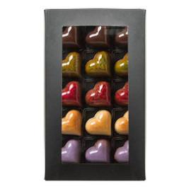 Шоколадные конфеты ОРЕХИ ДЛЯ ТЕБЯ с ореховой начинкой 125 гр.