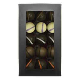Набор шоколадных конфет ВКУСЫ СВЕТА с начинкой  125 гр.