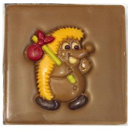 """Шоколад молочный  Ежик """"40%"""" 70г"""