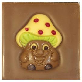 """Шоколад молочный  Грибочек""""40%"""" 70г"""