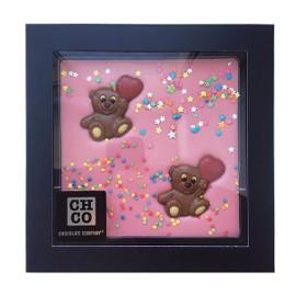 Шоколад Розовый мишка 300 гр.