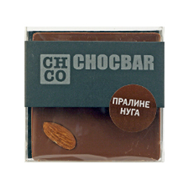 Молочный шоколад Пралине Нуга