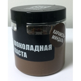 Шоколадная паста карамель-миндаль. 200 гр