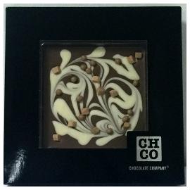 Шоколад СНСО молочный 40% с шоколадными шариками и карамелью,
