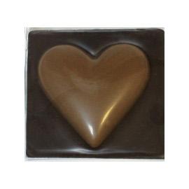 Молочный шоколад  СЕРДЦЕ шоколадное