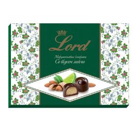 """Шоколадные конфеты """"Миндальный марципан"""" со вкусом лайма"""