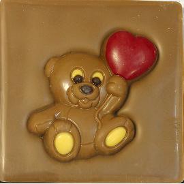 """Шоколад молочный  Мишка """"40%"""" 70г"""