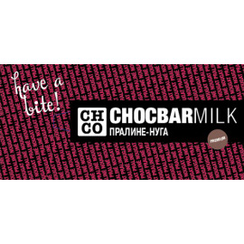 Молочный шоколад Пралине-Нуга
