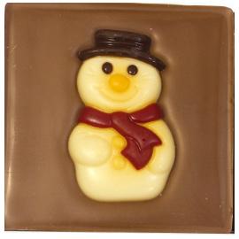 """Шоколад молочный  Снеговик""""40%"""" 70г"""